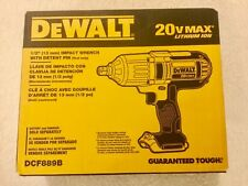 New Dewalt DCF889B 1/2�€ 20V Max Cordless High Torque Impact Wrench w/ Detent Pin