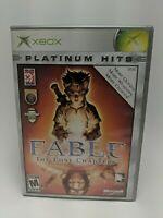 Fable The Lost Chapters Xbox Game w/Manual, Complete & Tested