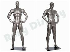 Male Fiberglass Sport Athletic style Mannequin Dress Form Display #BRADY01-MC