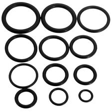 50x Rubber O-Ring Assorted Sizes Set Kit For Plumbing Tap Seal Sink Thread