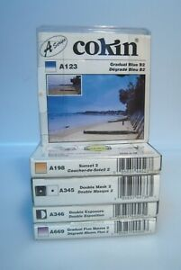 Brand New Lot of x5 Cokin Filters Series A. See list/ Shipping by FedEx ---K1