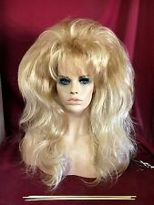 2017 SIN CITY WIGS! LONG VOLUMINOUS HIGHLIGHTED GOLDEN BLONDE LAYERS BODY SOFT