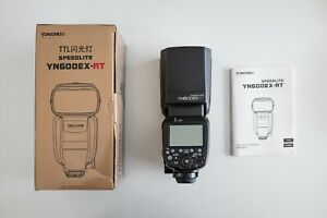 YONGNUO YN600EX-RT Wireless Flash Speedlight for Canon *As New*