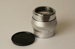Carl Zeiss Sonnar 2/85mm für Contarex