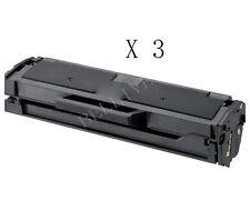 3 TONER COMPATIBILE PER SAMSUNG MLT-D101S ML-2160 ML-2165 SF 760P SCX-3405 BL