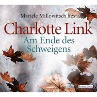 MARIELE MILLOWITSCH - CHARLOTTE LINK-AM ENDE DES SCHWEIGENS  6 CD  HÖRBUCH  NEU
