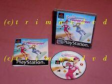 PS1 _ Barbie Super Sport _ Erstausgabe guter Zustand _ Über 1000 Spiele im SHOP