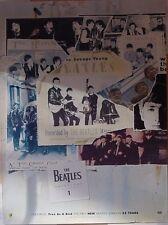 Beatles Anthology #1 Apple Records UK promo Poster