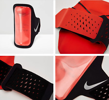 """New Nike Ventilated Running Arm Band Black Red Fits Phones up to 5.5"""" Iphone $30"""