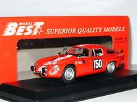 Best 9074 Alfa Romeo TZ1 1964 Tour De France #150 1/43