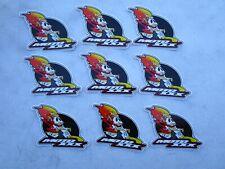 9 pieces ONEAL MOTO XXX stickers , decals