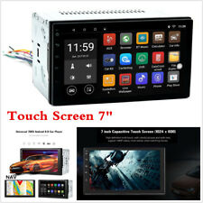 """7"""" Touch Screen 2 Din WiFi GPS Navigation Bluetooth Android 6.0 Car MP5 Player"""