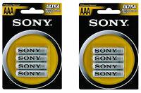 AAA sony Batteries  of Ultra Heavy Duty 15v Zinc AAA Batteries 8 Pack