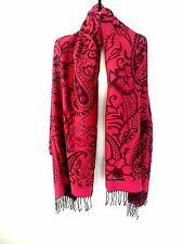 Women's Floral Pashmina Scarves and Wraps