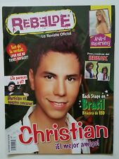 REVISTA REBELDE 5 christian