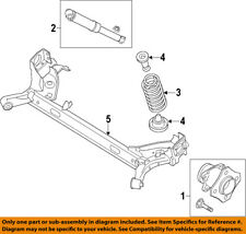 NISSAN OEM 16-17 Sentra Rear Suspension-Axle Assembly 555014AF2C