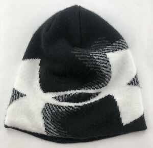 Under Armour Youth 1 Size Fits Most Toboggan Black / White