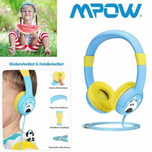 Mpow Kinder Kopfhörer On Ear Stereo Headset 85dB Lautstärkebegrenzung Headphone