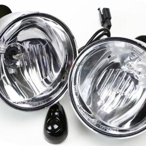 Clear Lens Fog Lights w/Switch for 94-03 Pontiac Grand Prix/01-06 Suburban Tahoe