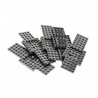 5 x Lego System Bau Platte 6x16 neu-dunkel grau Auto LKW Unterbau 6 x 16 Noppen