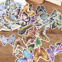 60Pcs Various Flower Plants Paper Stickers Album Diary Decor DIY Scrapbooking EL