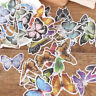 60Pcs Various Flower Plants Paper Stickers Album Diary Decor DIY Scrapbooking NH