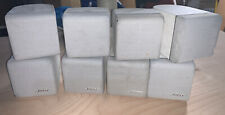 Set of 4 Bose double cube home theater speakers lifestyle acoustimass