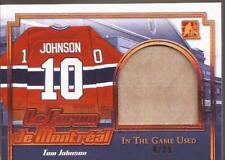 TOM JOHNSON 2017-18 Leaf ITG Used Le Forum de Montréal #4/30 Canadiens