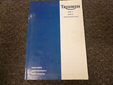 2002-2005 Triumph Sprint ST RS Motorcycle Shop Service Repair Manual 2003 2004