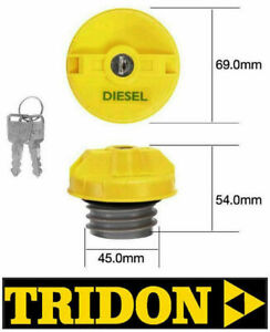 TRIDON LOCKING FUEL CAP FORD RANGER PJ PK DIESEL TFL234D