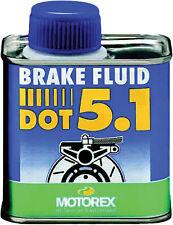 MOTOREX DOT 5.1 BRAKE FLUID (250ML) 109911 - 580-0365