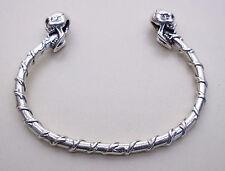 Totenkopf Armband Silber 925 Armreif Skull Gothic Celtic Keltischer Schmuck