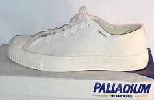 VINTAGE baskets toile blanche PHOENIX PALLADIUM modèle FAC taille 41 NEUVES