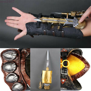 Assassins Creed Hidden Sword Blade Syndicate Gauntlet Costume Cosplay Kids Toys