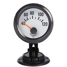 "Black Car Universal Pointer 2"" 52mm Water Temp Temperature Gauge Pod Holder"