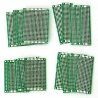 20pcs Double-Side Protoboard Circuit Universal DIY Prototype PCB Board 4 Size