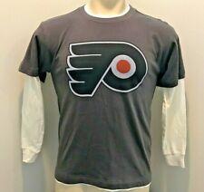 Philadelphia Flyers NHL Youth T-shirt L/S Large 16-18 euc