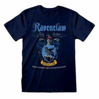 Homme harry potter Serdaigle Crest Bleu T-Shirt - Maison Hogwarts T-Shirt