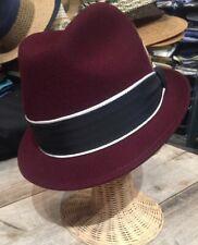 New York Hat Stingy Brim Louie Fedora Hat