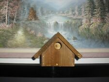 WREN BIRD HOUSE ,HAND PAINTED HAND CRAFTED WOODEN