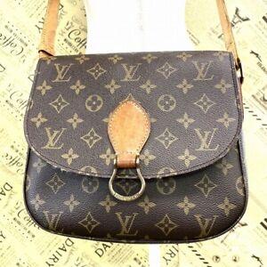 Louis Vuitton Saint Cloud GM Shoulder Bag Monogram M51242 Japan # DU144-403