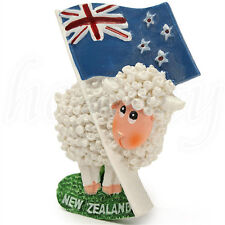 3D Resin Cute Sheep & Flag Travel Fridge Magnet Tourist Souvenir - New Zealand