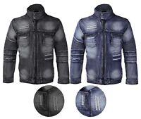 Men's  Cotton Denim Jean Contender Jacket 9DJ03