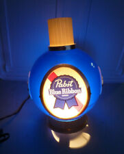 Vintage Pabst Blue Ribbon Beer Electric Sconce Light Lamp