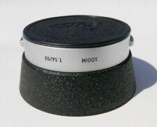 "Leica Leitz ""XOOIM"" Lens Hood for 50mm f/1.4 Summilux-M Lens w/Cap"