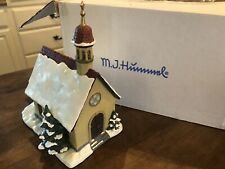 """Goebel Hummel 10"""" Christmas Cathedral Set in Box w/ Figurines & Light 157309"""