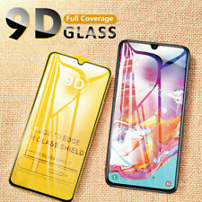 For Samsung A10/A20e/A40/A50/A70 9D Full Cover Tempered Glass Screen Protector
