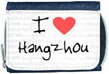 I Love Heart Hangzhou Denim Wallet