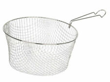 """Pendeford Replacement Wire Chip Pan Deep Frying Basket - Fits 8""""/20cm Pan"""