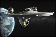Star Trek Enterprise Space Ship Movie Poster Art Print 91x61 cm